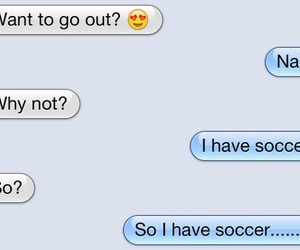 girls, soccer, and 😏 image