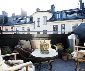 balcony, house, and luxury image