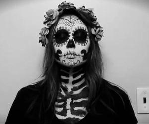 Halloween, girl, and make up image