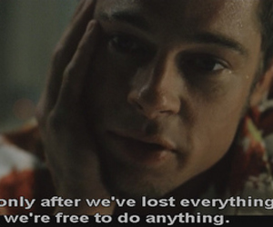 brad pitt, fight club, and quotes image