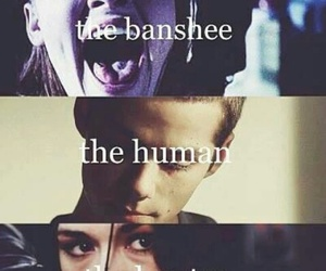 teen wolf, banshee, and werewolf image