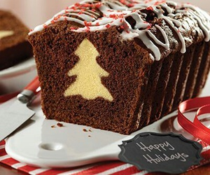 christmas, cake, and chocolate image