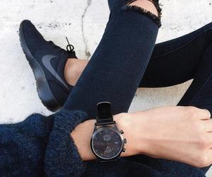 fashion, black, and nike image
