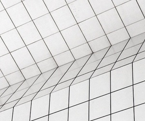 grid, white, and aesthetic image