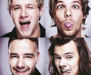 louis, niall, and harry image