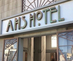 hotel, october, and american horror story image