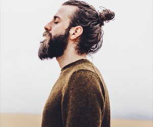 beard and man image