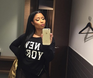 nicki minaj, nicki, and selfie image
