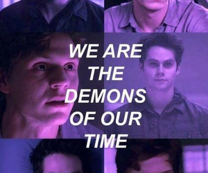 teen wolf, demon, and evan peters image
