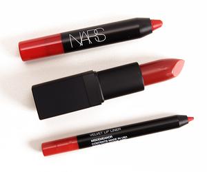 make up, nars, and red image