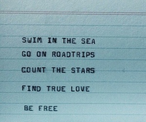 quotes, stars, and sea image