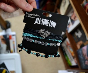all time low, livinginasgard, and bracelet image