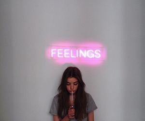 feelings, girl, and grunge image