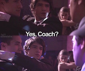 teen wolf, danny, and coach image