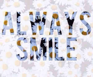 smile, flowers, and always image