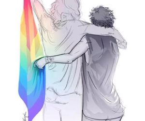 fanart, larry, and love wins image