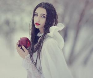 apple, princess, and white image