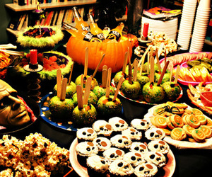 Halloween, food, and october image