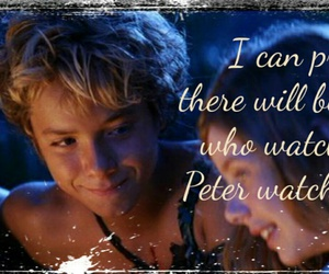 jeremy sumpter, peter pan, and wendy darling image