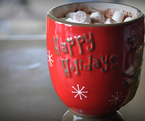 christmas, hot chocolate, and delicious image