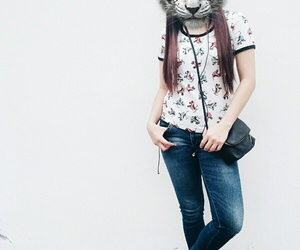 asian, fierce, and footwear image