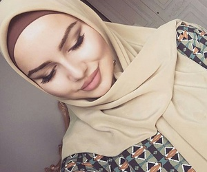 caucasian, france, and hijab image