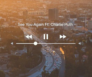 see you again and charlie puth image