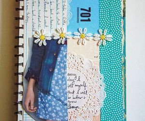 art, diy, and back to school image