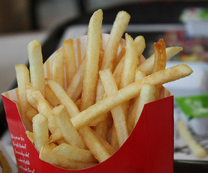 fast food, French Fries, and McDonald's image