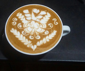 background, coffee, and latte image