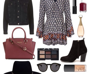 ankle boots, bohemian, and indie image