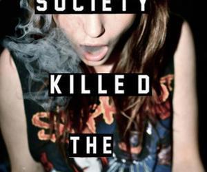 teenager, society, and smoke image
