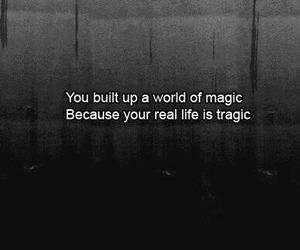 magic, quotes, and tragic image