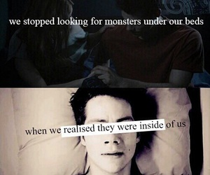 monster, teen wolf, and stiles image