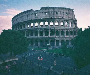 city, Coliseum, and rome image