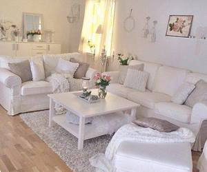 home, living room, and white image