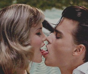 kiss, johnny depp, and cry baby image