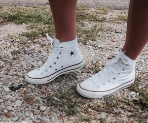 all star, converse, and high top image