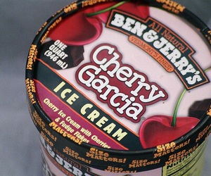 ice cream, cherry, and food image
