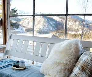 winter, home, and cozy image
