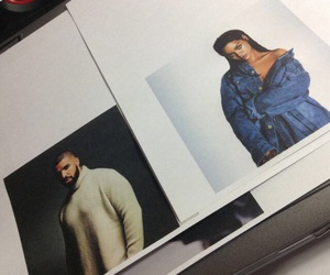 Drake and rihanna image