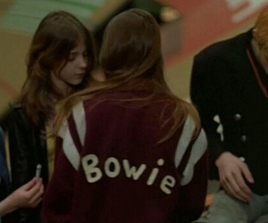 david bowie, bowie, and Christiane F image