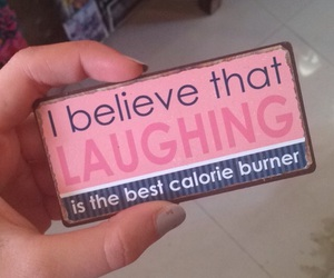happy, laugh, and sayings image