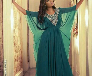 green, inspiration, and kaftan image