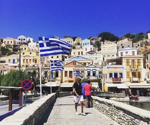 Greece, symi, and holiday image
