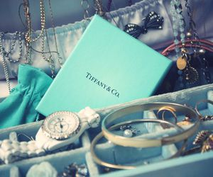 tiffany, blue, and jewelry image