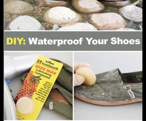 shoes, diy, and waterproof image