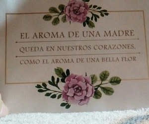 flores, frase, and mama image
