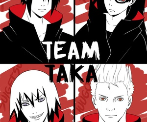 anime, suigetsu hozuki, and team hebi image