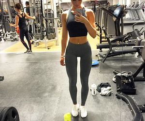 goals, workout, and body image